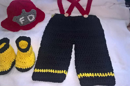 Little firefighter outfit
