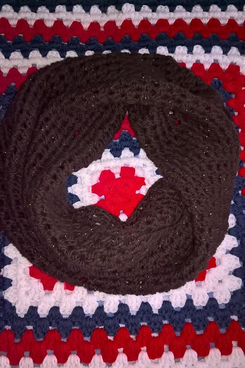Chocolate infinit scarf