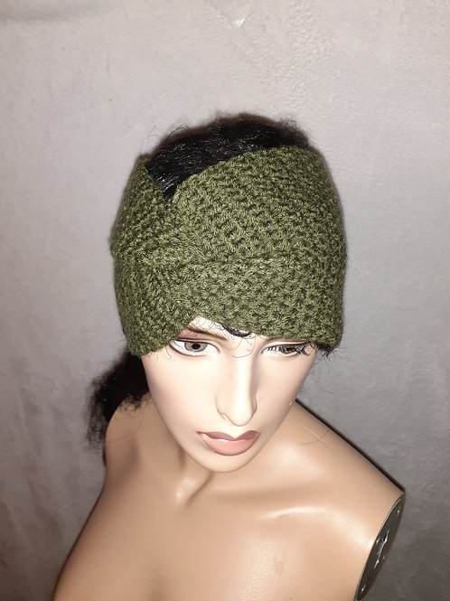 Twisted headband/ear warmer