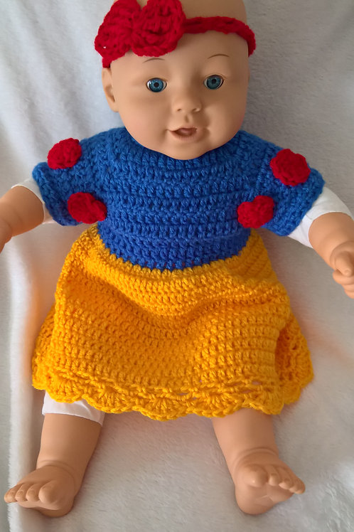 Baby snowwhite outfit