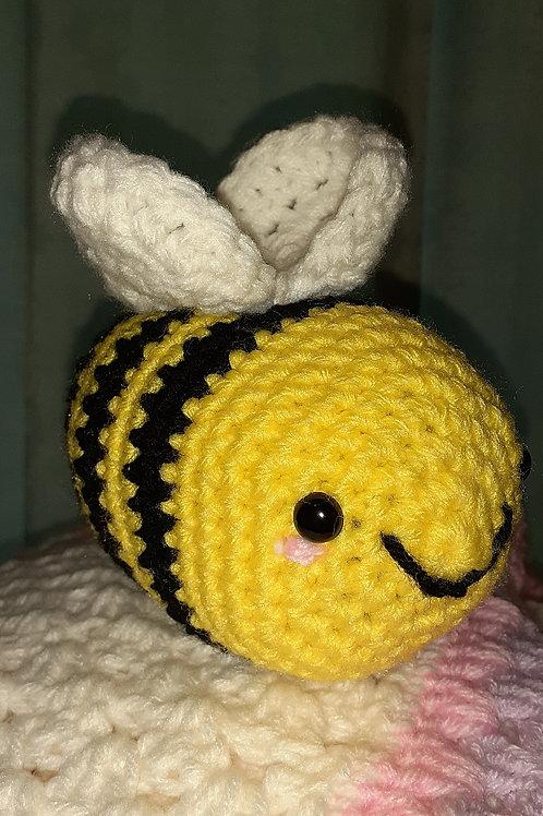 Crochet bumblebee stuff animal