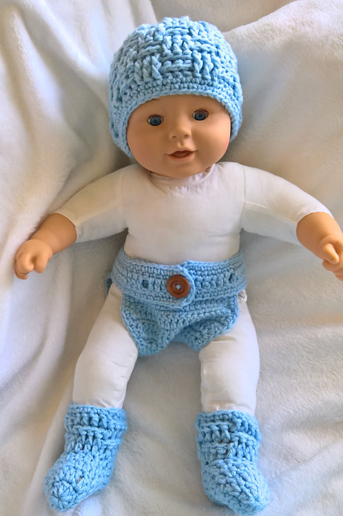 Baby boy blanket and outfit