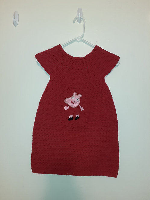 Peppa Pig dress & bag