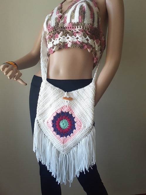 Sunburst Boho Bag