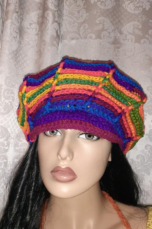 Rainbow Funky Hat