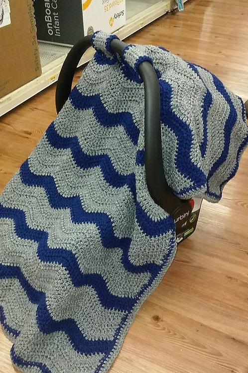 Car seat cover/blanket