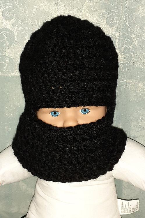Kids ski mask hat