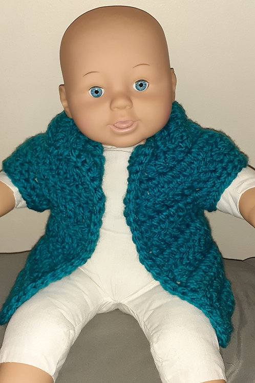 Newborn Cardigan Vest