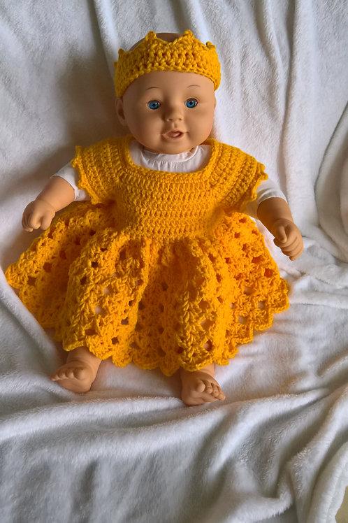 Baby Tiara & dress