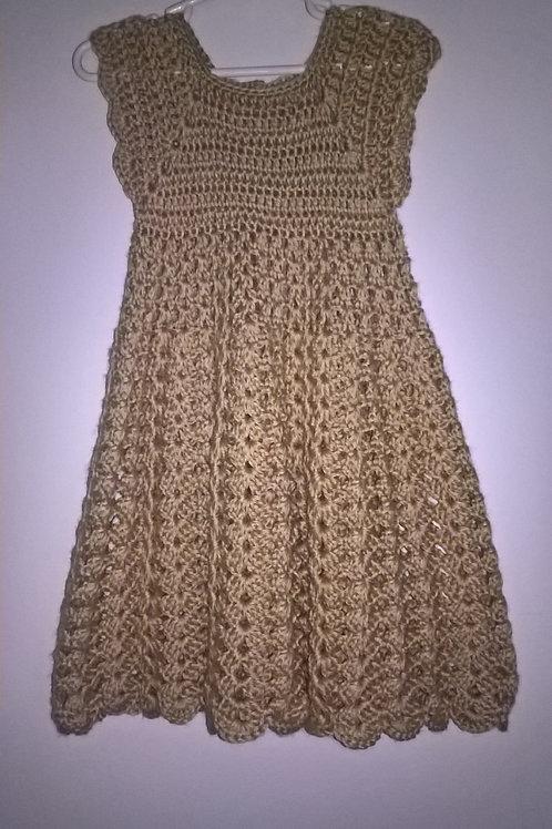 Toddler shell dress