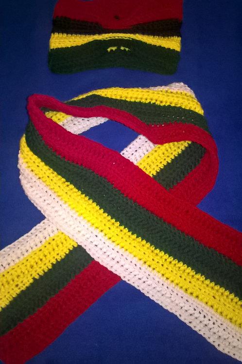 Toddler headband and scarf set