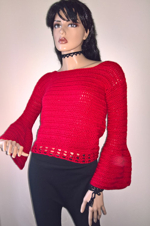 Bell Sleeves sweater