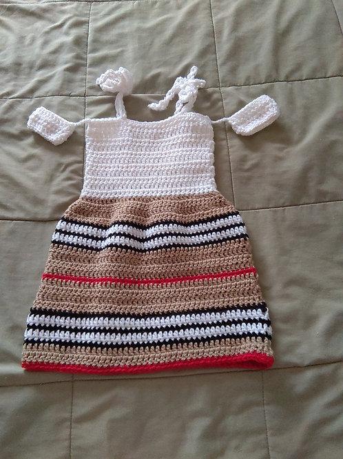 Toddler offshoulder dress