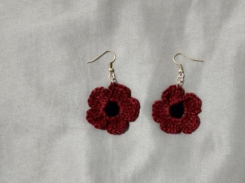 Crochet mini earrings