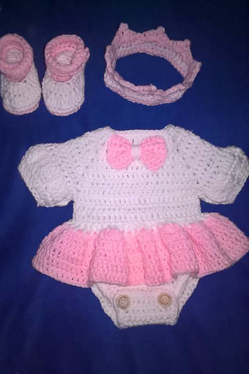 Newborn little princess outfit