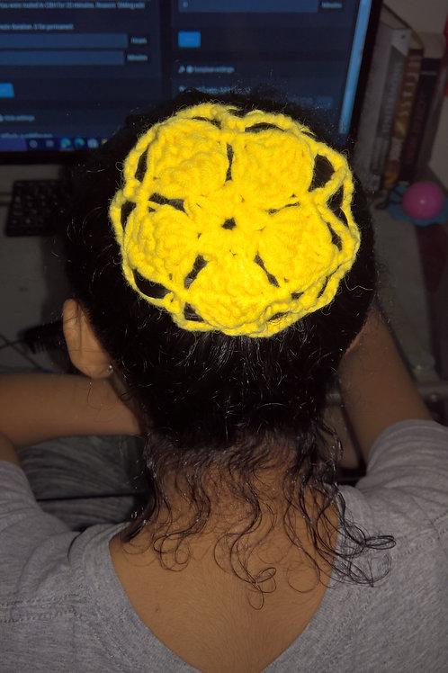 Ballerina hair bun cover