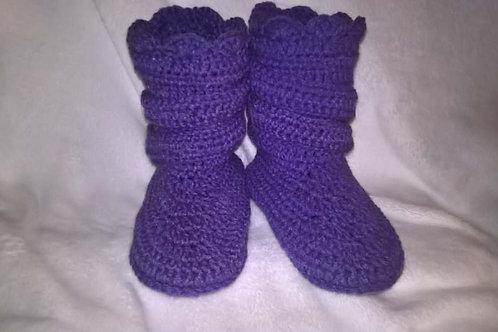Adult slipper boots