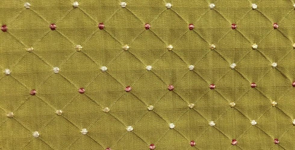 Pink - Green - Small Diamond Pattern