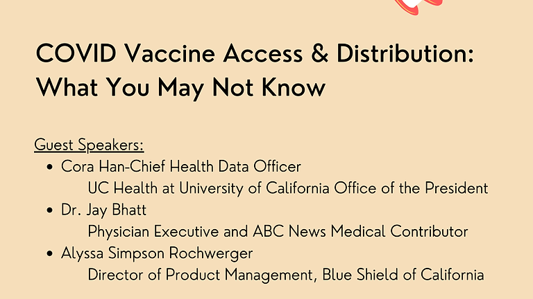 Vaccine Distribution and Access