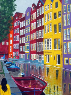 Living in color -AMSTERDAM