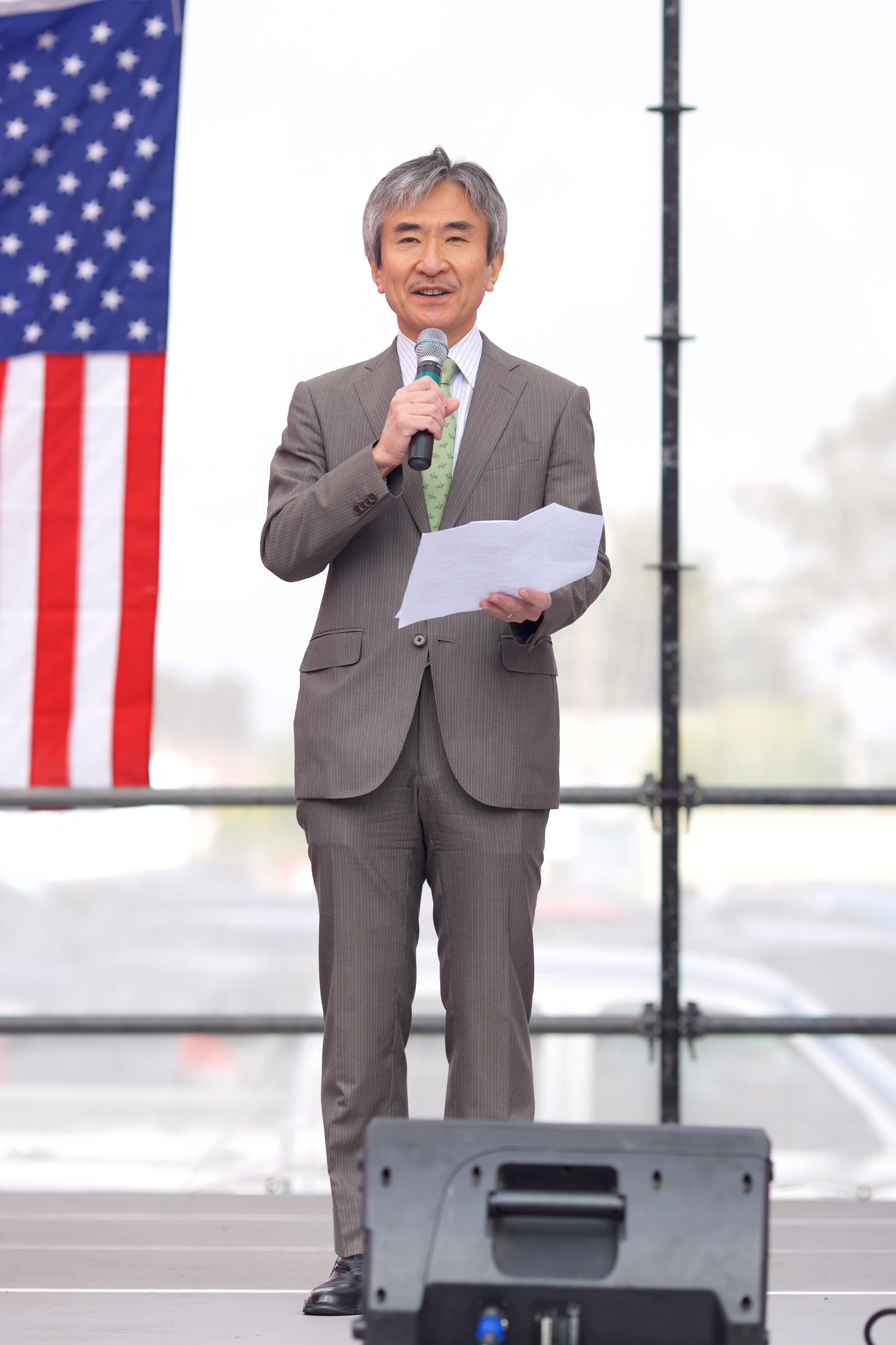 Jun Yamada, Consul Gen. of Japan