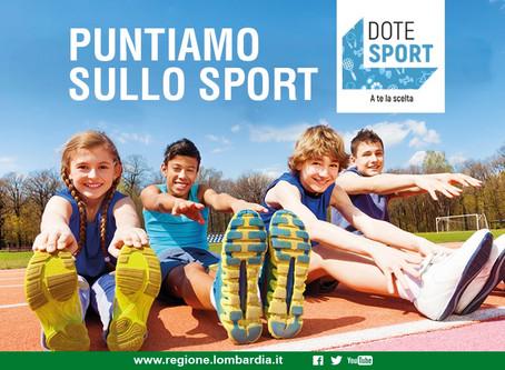 Dote sport 2019 - Regione Lombardia