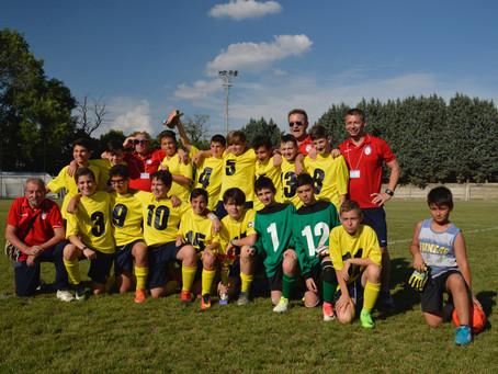 2004, Vittoria al Torneo di S. Stefano Ticino