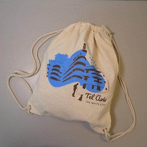 Blue back bag