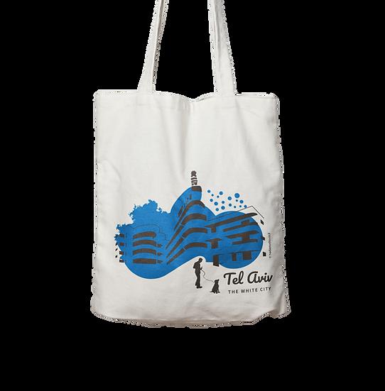 Tote bag   blue lagoon
