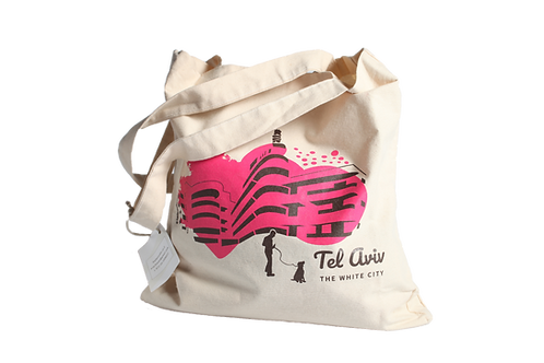 Tote bag | rose fushia