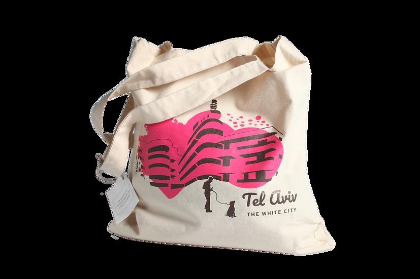 Tote bag | rose fushia