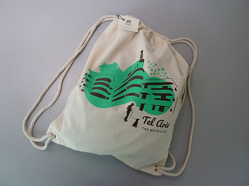 Green back bag