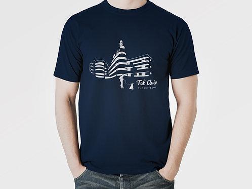 Blue T-shirt Men