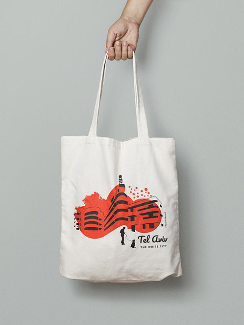 Warm Red Tote bag