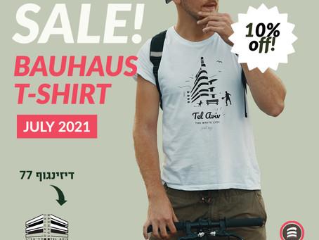 Summer time in Tel Aviv : -10%