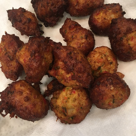Fried Balls of Fish
