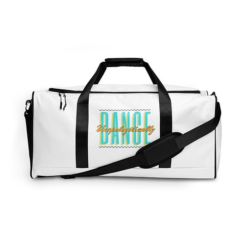 Summer Season 12 ( White Dance unapologetically Duffle bag )