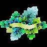 花のバッジ1