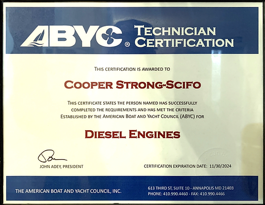 Cooper Strong ABYC Certification.png