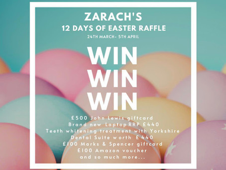 Our JLD 2021 Charity of the Year is... Zarach!
