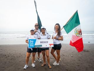 Representando a México el ISA World SUP 2019