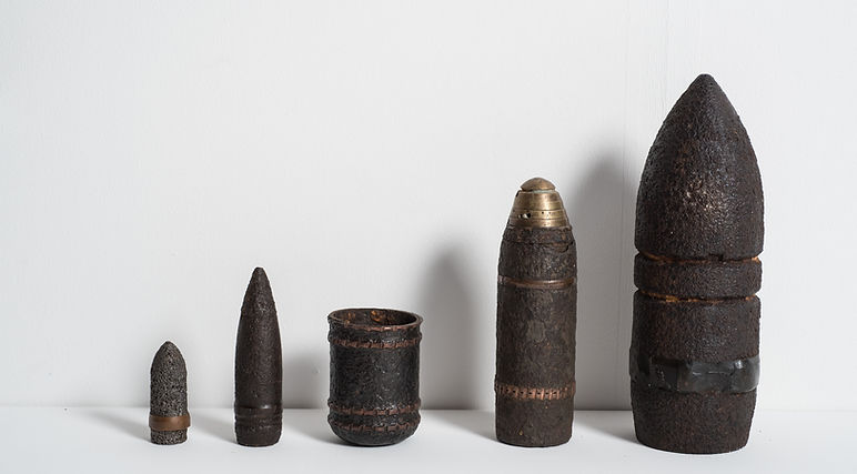 World Wars ammunitions