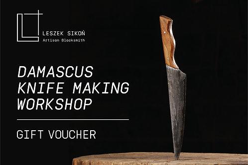 Knife Making Workshop Voucher