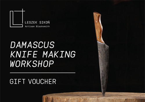 Knife Making Workshop Voucher | lsikonblacksmith