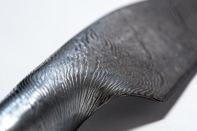Wave knife closeup