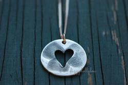 Silver Necklace, Fingerprints