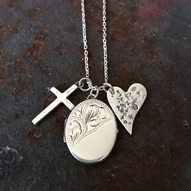 Loved one's ashes and charms