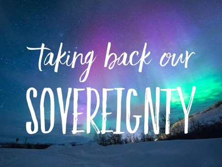 Taking Back Our Sovereignty