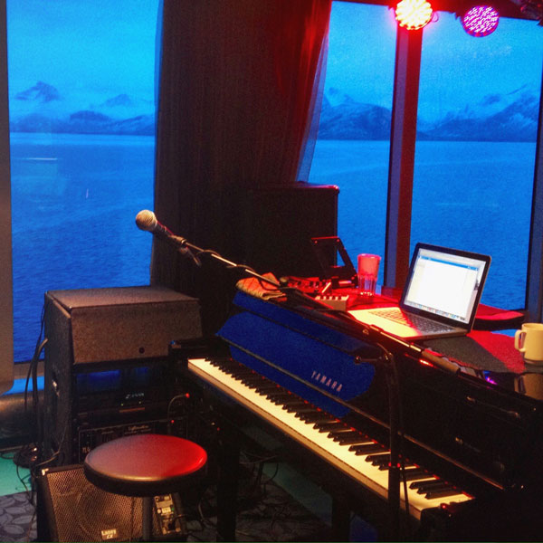 Piano by Norwegian Fjords