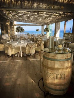 Oceano outdoor dining